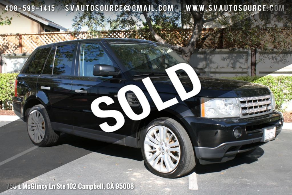 Range Rover Sport >> 2009 Used Land Rover Range Rover Sport 4wd 4dr Sc At Silicon Valley Auto Source Serving Campbell Ca Iid 18595620