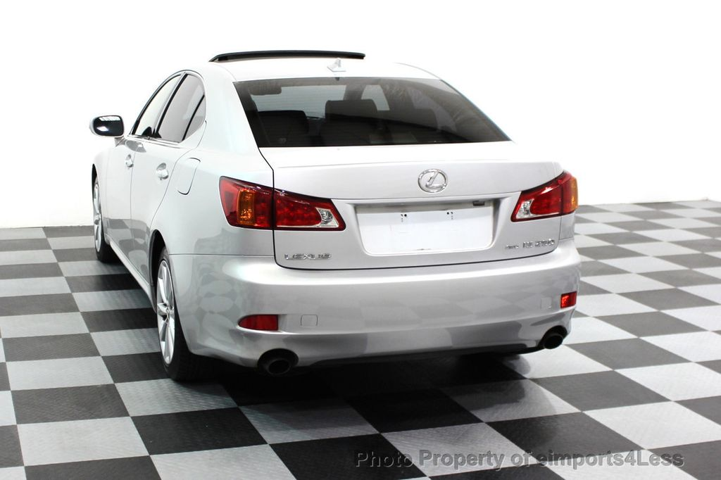 2009 Lexus IS 250 4dr Sport Sedan Automatic AWD - 16317684 - 13