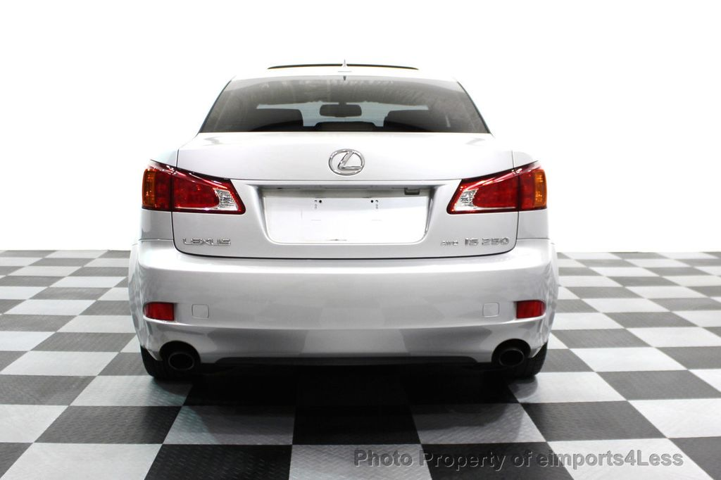 2009 Lexus IS 250 4dr Sport Sedan Automatic AWD - 16317684 - 14