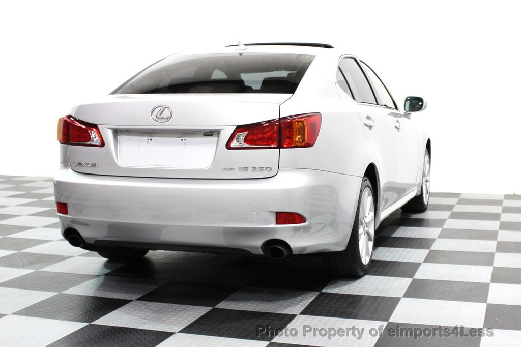 2009 Lexus IS 250 4dr Sport Sedan Automatic AWD - 16317684 - 22