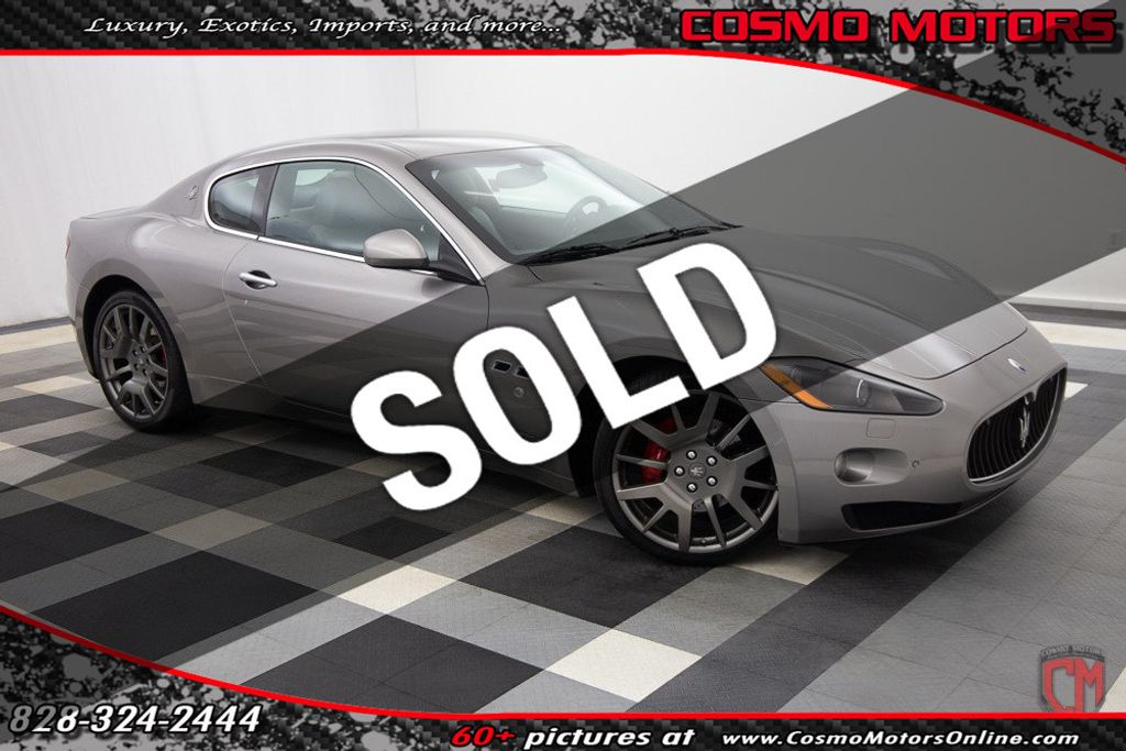 Used Maserati Granturismo >> 2009 Used Maserati Granturismo 2dr Coupe At Cosmo Motors Serving Hickory Nc Iid 19635009