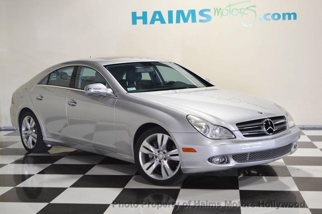 2009 used mercedes benz cls class cls550 4dr coupe 5 5l at haims motors serving fort lauderdale. Black Bedroom Furniture Sets. Home Design Ideas