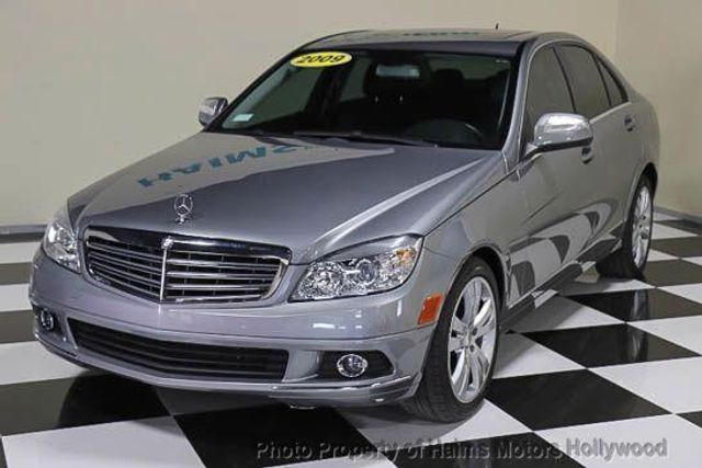 2009 used mercedes benz c class c300 4dr sdn 3 0l luxury for Used mercedes benz c300 4matic