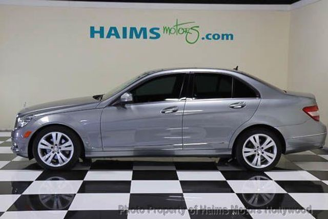 2009 used mercedes benz c class c300 4dr sdn 3 0l luxury 4matic at haims motors serving fort. Black Bedroom Furniture Sets. Home Design Ideas