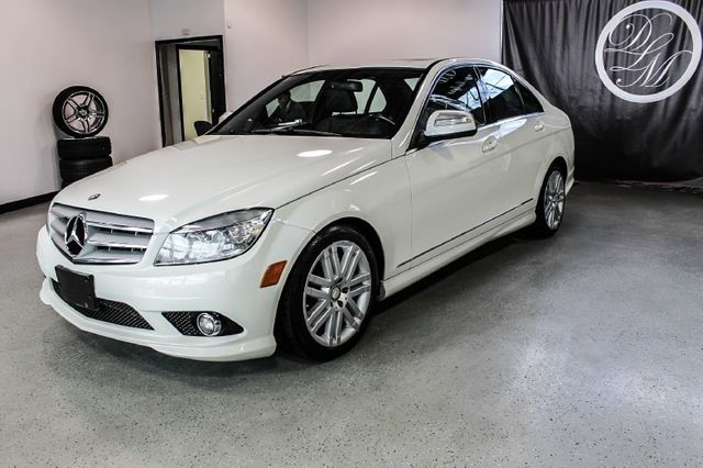 2009 used mercedes benz c class c300 4dr sedan 3 0l sport 4matic at dip 39 s luxury motors serving. Black Bedroom Furniture Sets. Home Design Ideas