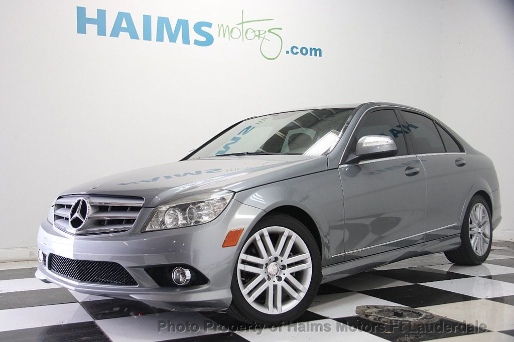 2009 Mercedes-Benz C-Class C300 4dr Sedan 3.0L Sport RWD - 17303459 - 0