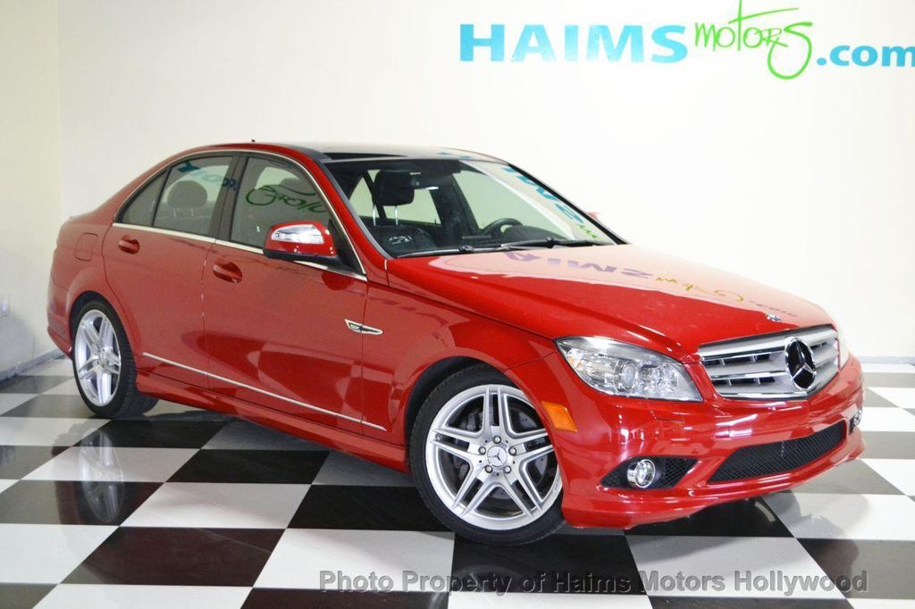 2009 used mercedes benz c class c350 4dr sdn 3 5l sport for 2009 mercedes benz c350