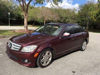 2009 Mercedes-Benz C-Class C350 4dr Sedan 3.5L Sport RWD