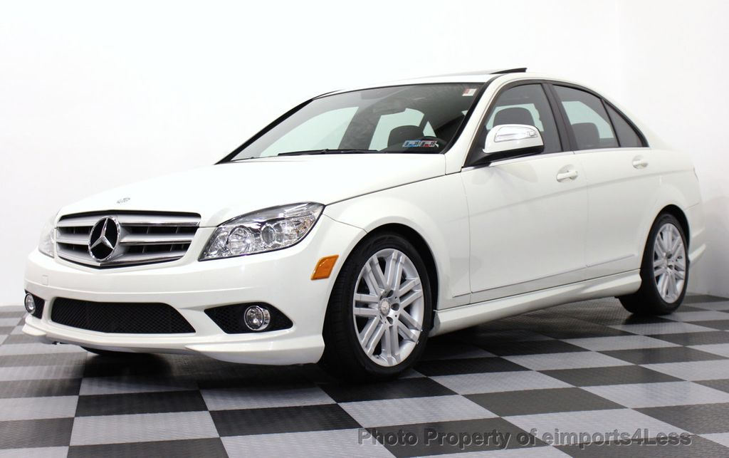 2009 used mercedes benz c class certified c300 4matic for Mercedes benz c300 sport 4matic