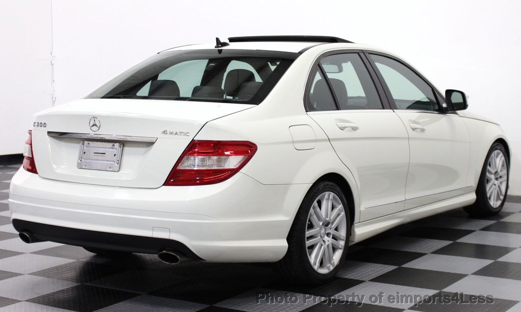 2009 Used Mercedes-Benz C-Class CERTIFIED C300 4Matic ...