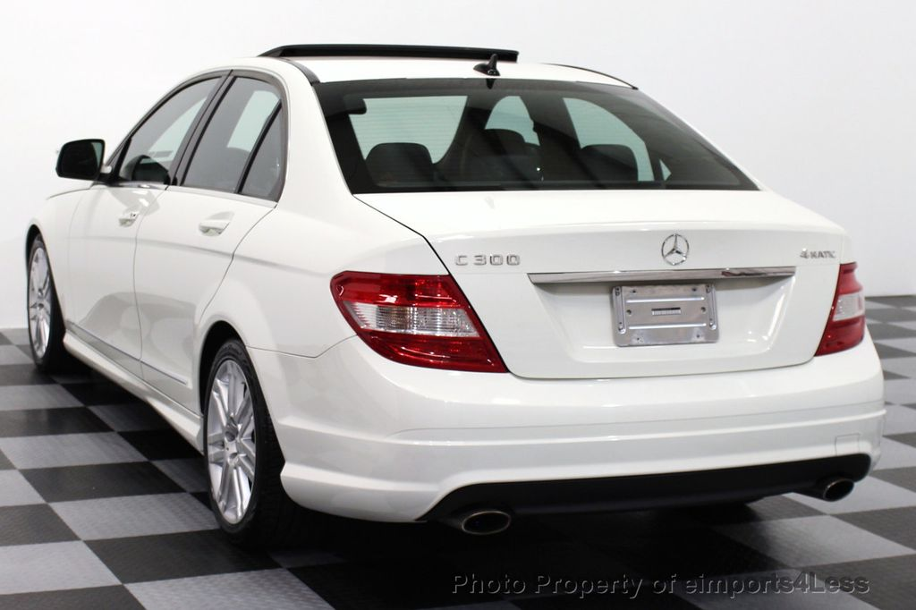 2009 used mercedes benz c class certified c300 4matic sport package awd navigation at. Black Bedroom Furniture Sets. Home Design Ideas