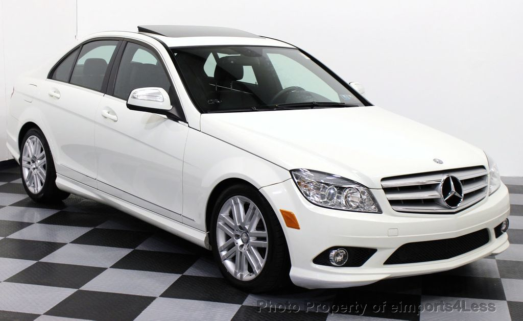 2009 used mercedes benz c class certified c300 4matic for White mercedes benz c300