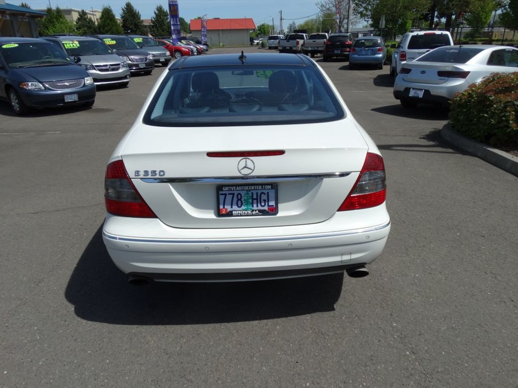 2009 Used Mercedes-Benz E-Class E350 4dr Sedan Sport 3 5L RWD at Grove Auto  Center Serving Forest Grove, OR, IID 18904884