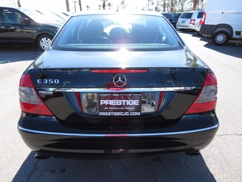 2009 mercedes benz e class e350 4dr sedan sport 3 5l rwd for Mercedes benz dealership las vegas