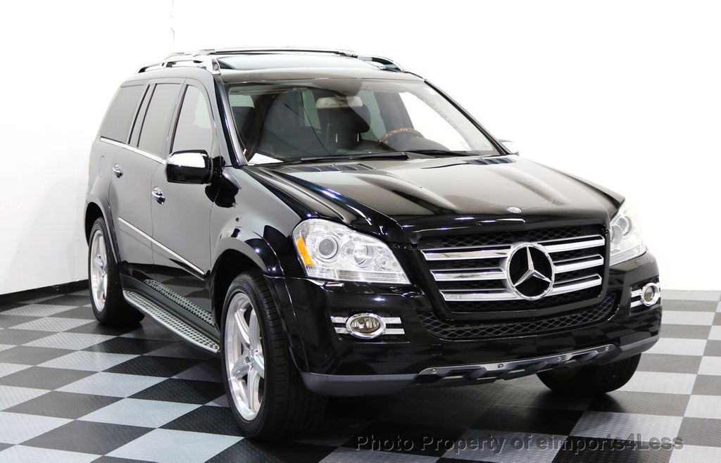 2009 Used Mercedes-Benz CERTIFIED GL550 4Matic AWD AMG 7 PASSENGER at eimports4Less Serving ...