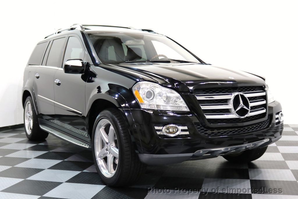 2009 used mercedes benz certified gl550 4matic awd amg 7 for Mercedes benz 7 passenger