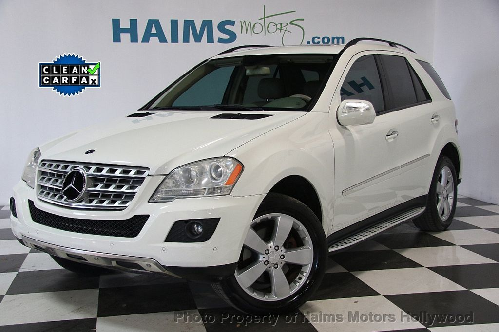 2009 Used Mercedes Benz M Class Ml350 4matic 4dr 3 5l At Haims Motors Hollywood Serving Fort