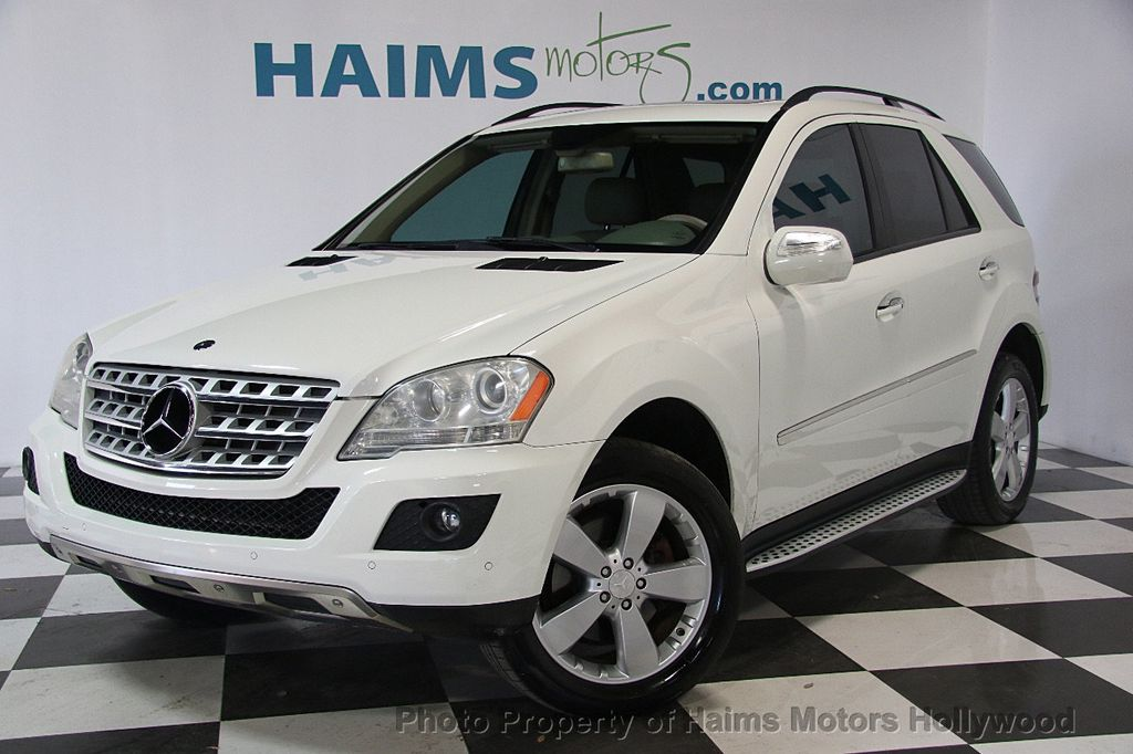2009 used mercedes benz m class ml350 4matic 4dr 3 5l at haims motors serving fort lauderdale. Black Bedroom Furniture Sets. Home Design Ideas