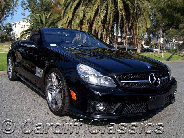 2009 used mercedes benz sl63 amg 6 2l v8 514hp at cardiff for Mercedes benz san diego county
