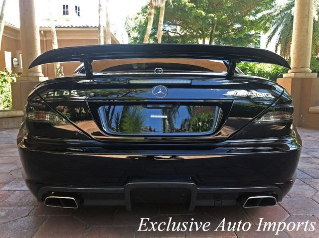 2009 Mercedes-Benz  RARE 1of175 SL65 AMG BLACK SERIES COUPE V12 TURBO - Click to see full-size photo viewer