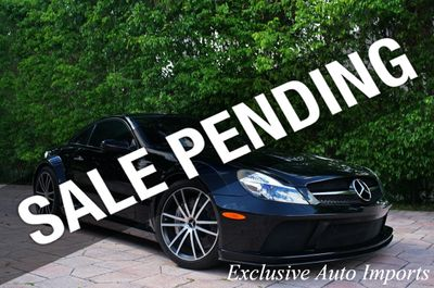 2009 Mercedes-Benz RARE 1-of-175 SL65 SL 65 AMG BLACK SERIES COUPE V12 TWIN TURBO