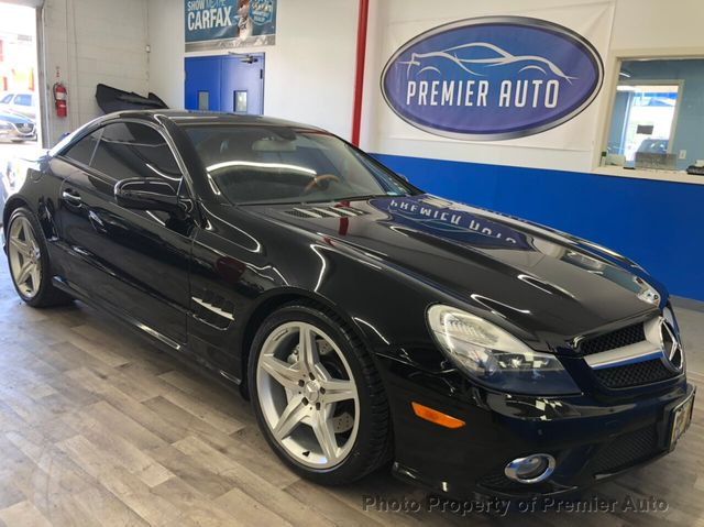 2009 Used Mercedes Benz Sl Class Sl550 2dr Roadster 5 5l V8 At Premier Auto Serving Palatine Il Iid 20165742