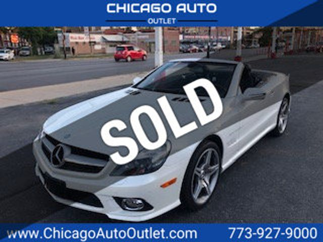 2009 Used Mercedes Benz Sl Class Sl550 2dr Roadster 5 5l V8 At Chicago Auto Outlet Il Iid 20231594