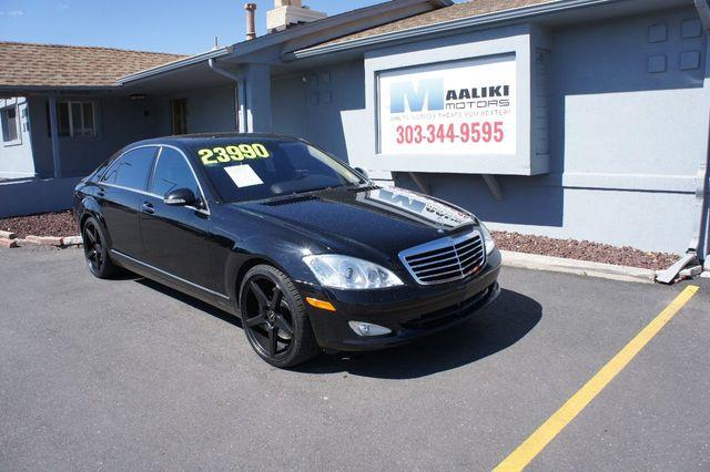 Bmw Dealership Denver >> 2009 Used Mercedes-Benz S-Class S550 4dr Sedan 5.5L V8 4MATIC at Maaliki Motors Serving Aurora ...