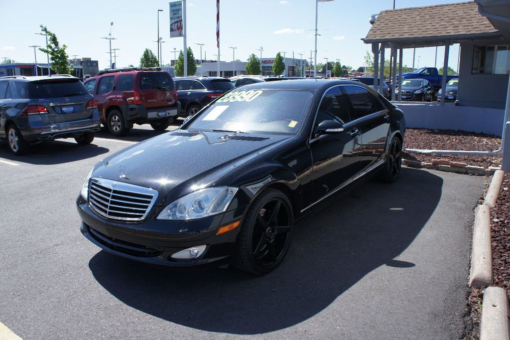2009 Mercedes-Benz S-Class S550 4dr Sedan 5.5L V8 4MATIC - 17662962 - 1