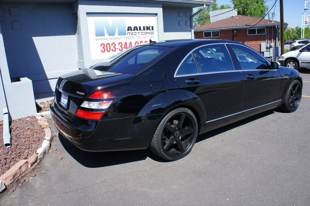 2009 Mercedes-Benz S-Class S550 4dr Sedan 5.5L V8 4MATIC - 17662962 - 3