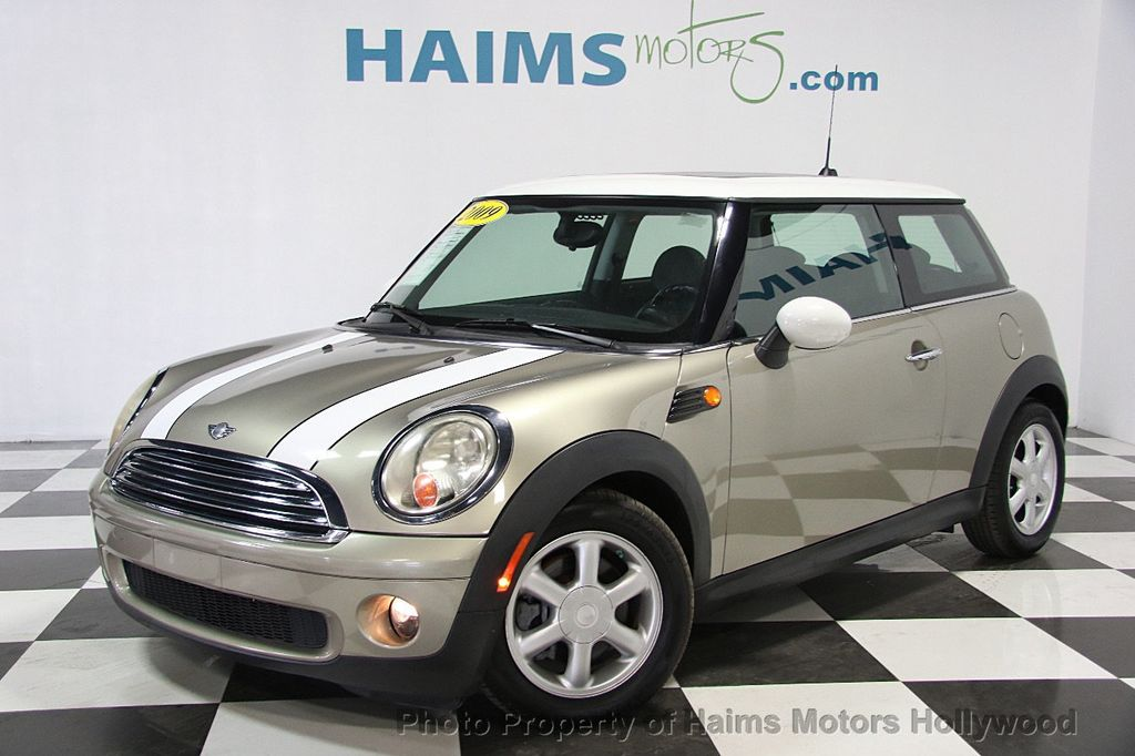 2009 used mini cooper hardtop at haims motors hollywood. Black Bedroom Furniture Sets. Home Design Ideas