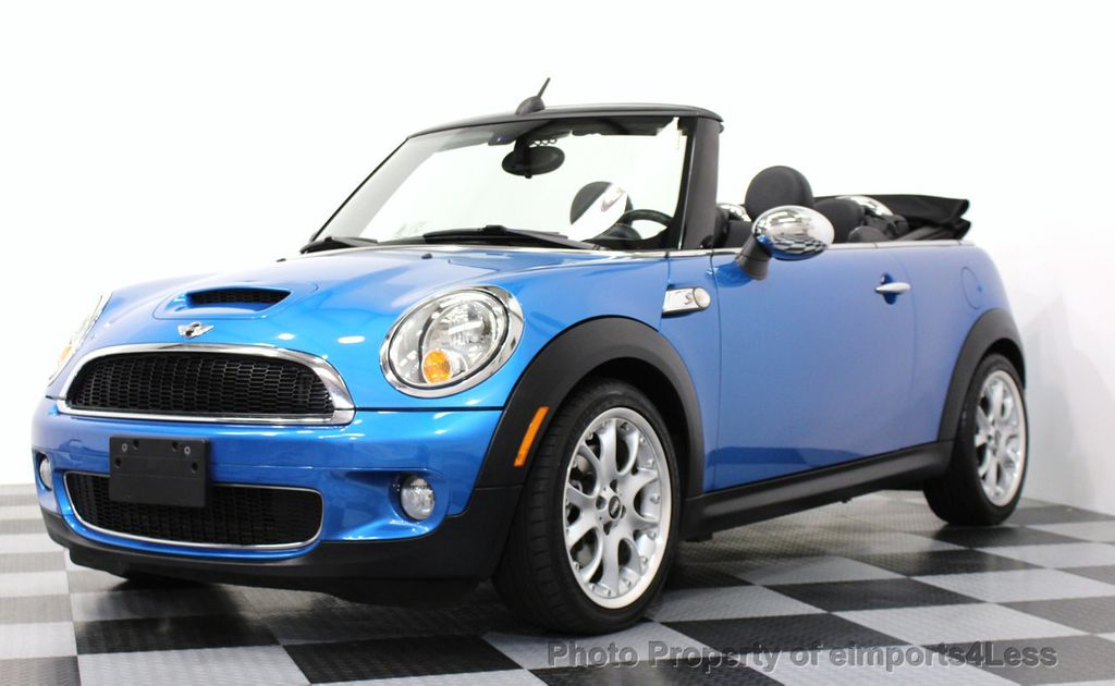 2009 used mini cooper s convertible 6 speed manual trans. Black Bedroom Furniture Sets. Home Design Ideas
