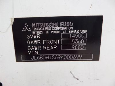 2009 Mitsubishi Fuso GLASS GLAZING TRUCK 2009 Mitubishi Fuso RWD, 1-Owner, 182k miles,  - Click to see full-size photo viewer