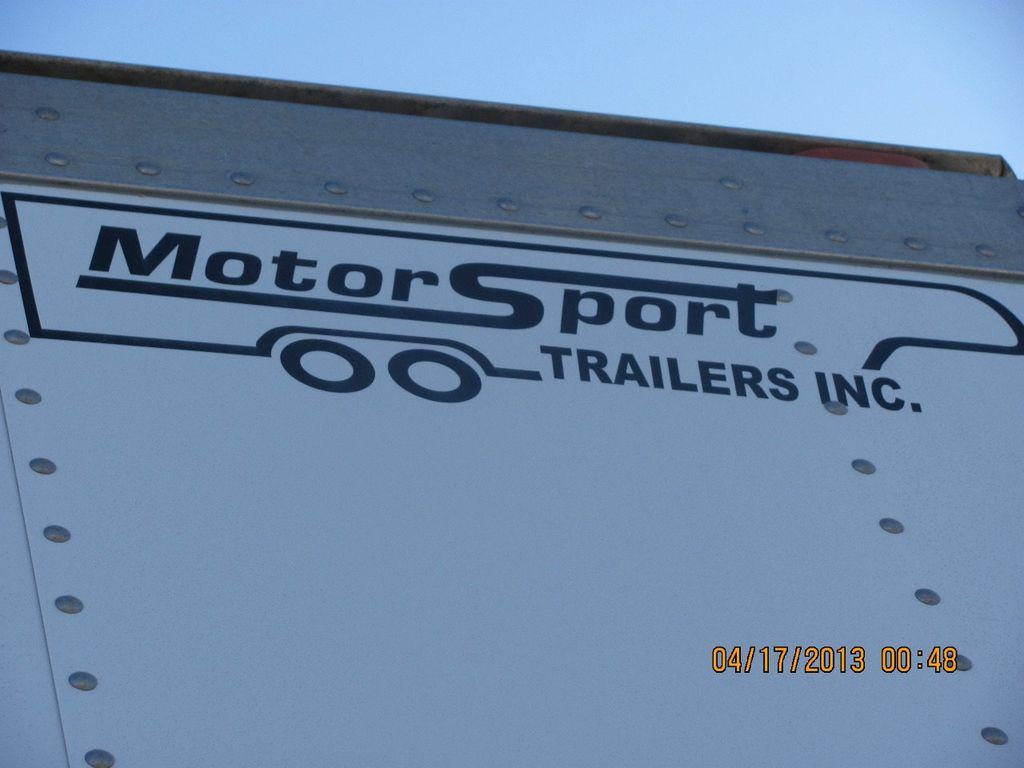 2009 Motor Sports Stacker Trailer 30ft - 14885147 - 2
