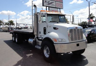 2009 Peterbilt 340 TANDEM AXLE.. JERR-DAN 28FT INDUSTRIAL 15 TON ROLLBACK - Click to see full-size photo viewer