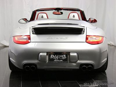 2009 Porsche 911 2dr Cabriolet Carrera S - Click to see full-size photo viewer
