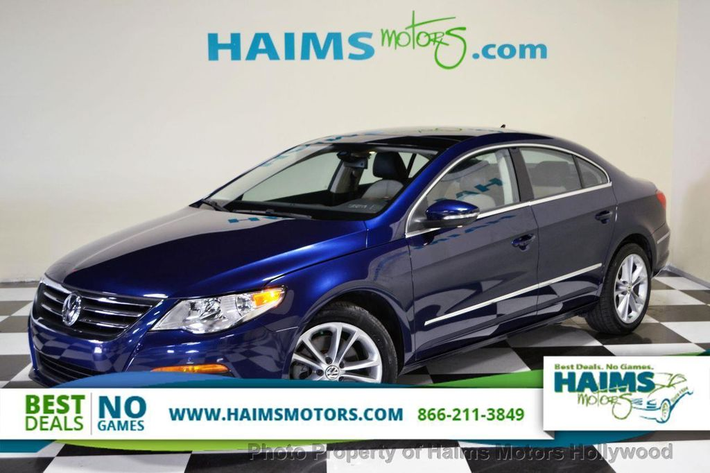 2009 used volkswagen cc 4dr automatic luxury at haims motors serving fort lauderdale hollywood. Black Bedroom Furniture Sets. Home Design Ideas