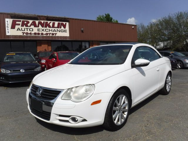 2009 Used Volkswagen Eos 2dr Convertible Dsg Komfort At Franklin Auto Exchange Serving Indian Trail Nc Iid 19070534