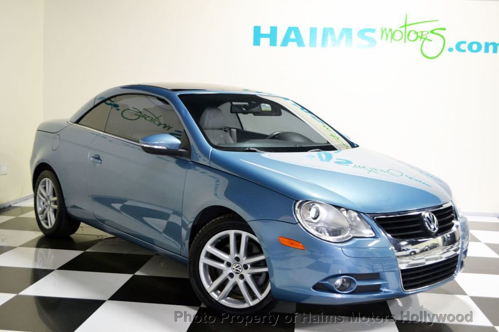2009 used volkswagen eos 2dr convertible dsg lux at haims. Black Bedroom Furniture Sets. Home Design Ideas