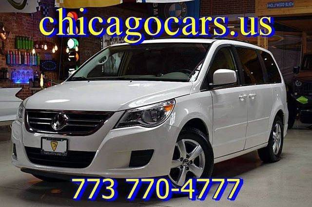 2009 used volkswagen routan se 4dr mini van w/ rse at chicago cars