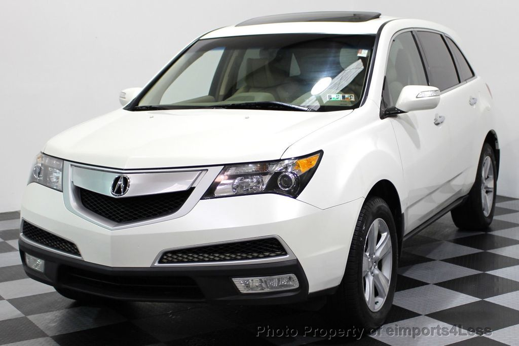 2010 Used Acura MDX CERTIFIED MDX AWD TECHNOLOGY CAMERA NAVIGATION ...