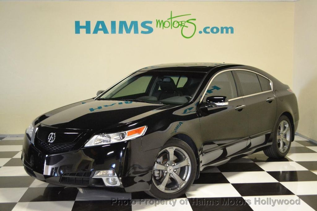 2010 used acura tl 4dr sedan automatic sh awd tech at haims motors serving fort lauderdale. Black Bedroom Furniture Sets. Home Design Ideas