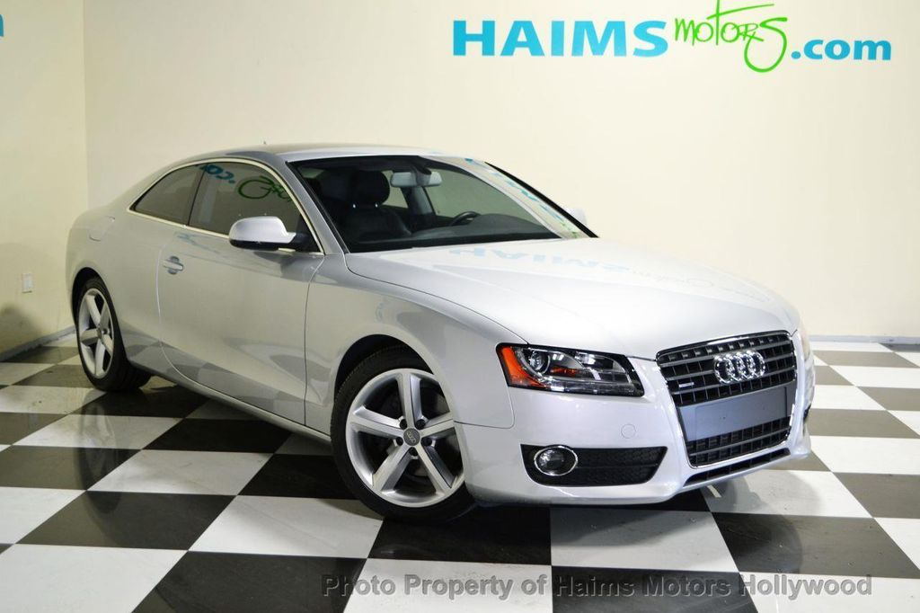 2010 used audi a5 2dr coupe automatic quattro 2 0l premium plus at haims motors serving fort. Black Bedroom Furniture Sets. Home Design Ideas