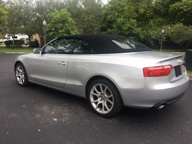 2010 Audi A5 Cabriolet 2dr Cabriolet CVT FrontTrak Premium - Click to see full-size photo viewer