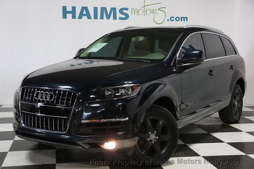 2010 used audi q7 quattro 4dr 3 6l premium at haims motors serving fort lauderdale hollywood. Black Bedroom Furniture Sets. Home Design Ideas