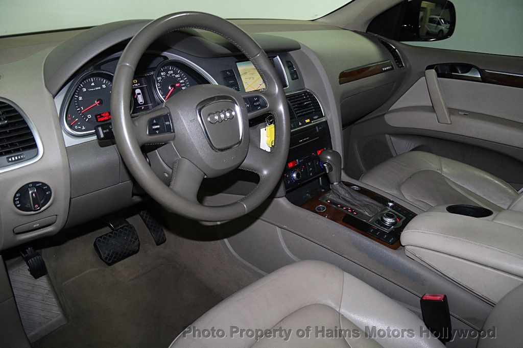 2010 used audi q7 quattro 4dr 3 6l premium at haims motors serving rh haimsmotors com Audi Q7 Needs LTE 2017 Audi Q7 Dash