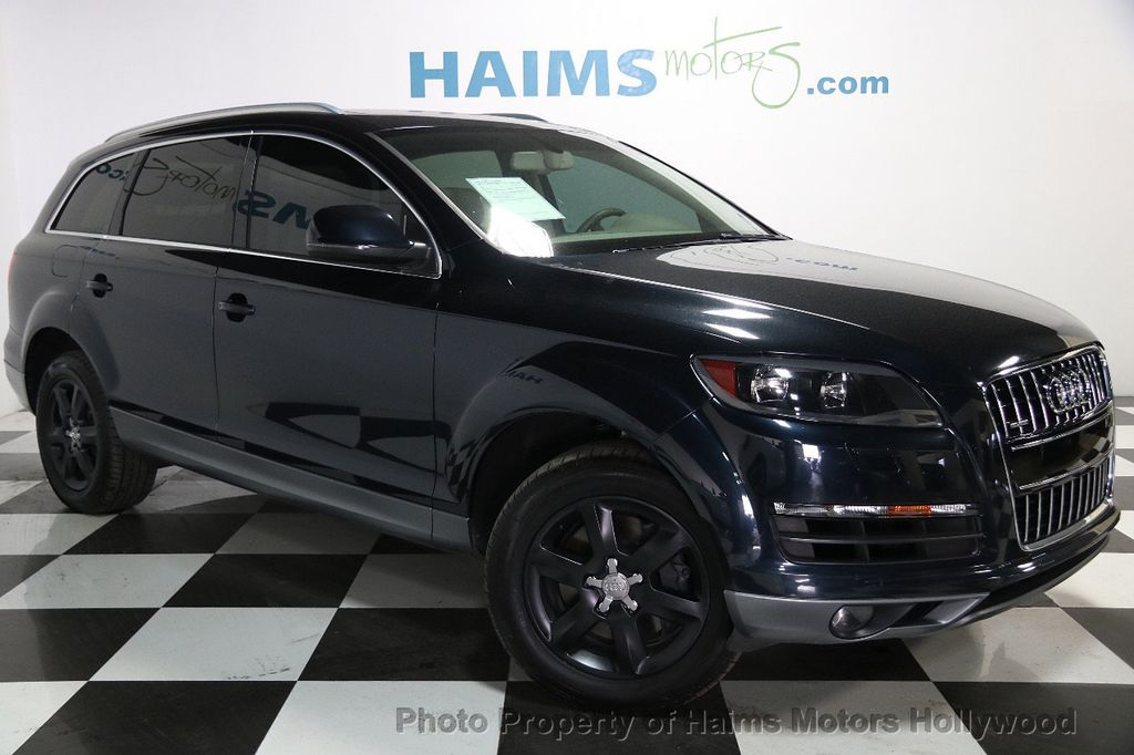 Used Audi Q Quattro Dr L Premium At Haims Motors Serving - Audi q7