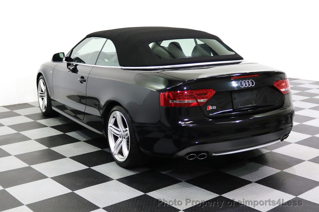 2010 Used Audi S5 Cabriolet Certified S5 30t Quattro Prestige Side