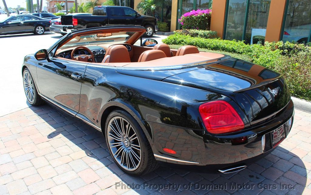 2010 Bentley Continental GT 2010 Bentley Continental GTC Convertible Speed only 25,442 miles - 17486050 - 9