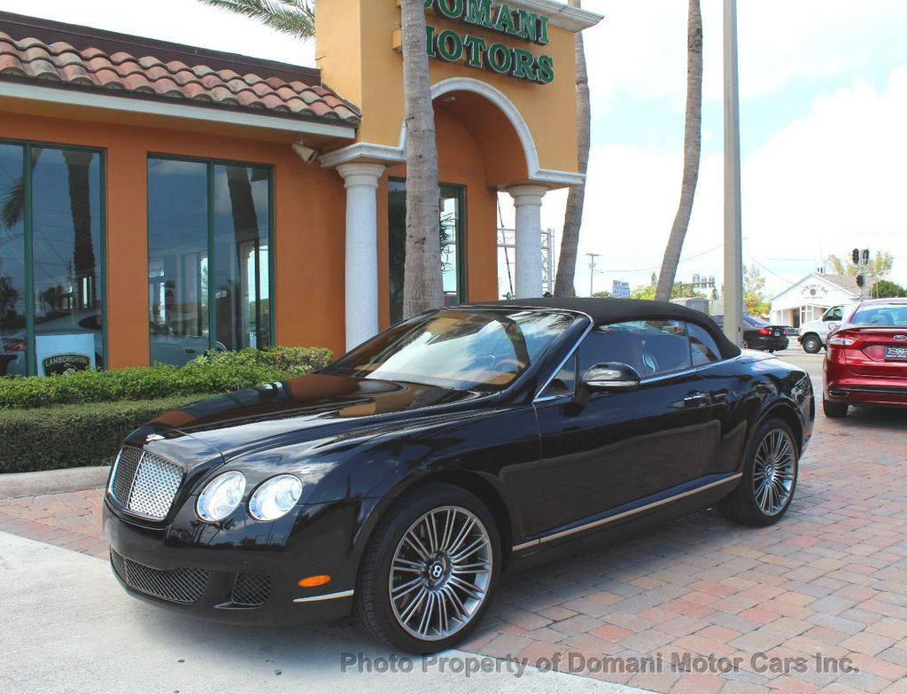 2010 Bentley Continental GT 2010 Bentley Continental GTC Convertible Speed only 25,442 miles - 17486050 - 1